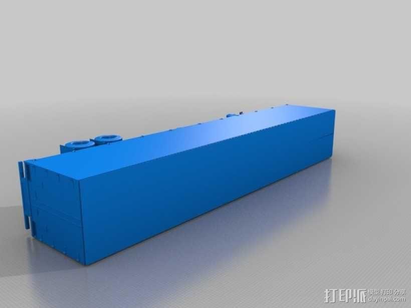 《变形金刚 》擎天柱 3D模型  图3