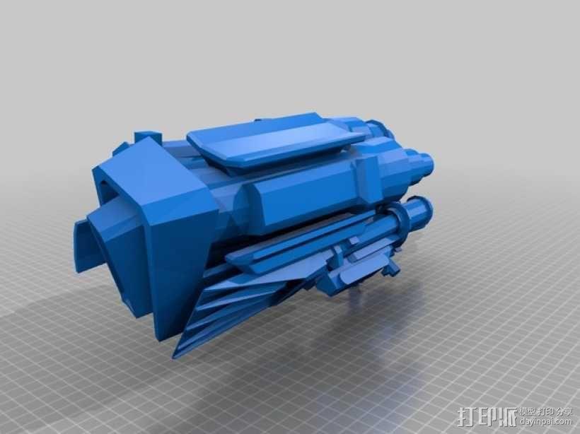 《变形金刚 》擎天柱 3D模型  图6