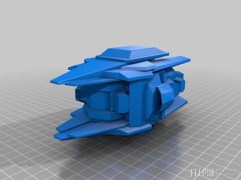 《变形金刚 》擎天柱 3D模型  图5