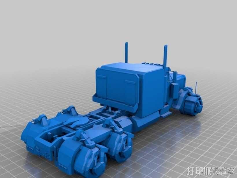 《变形金刚 》擎天柱 3D模型  图11