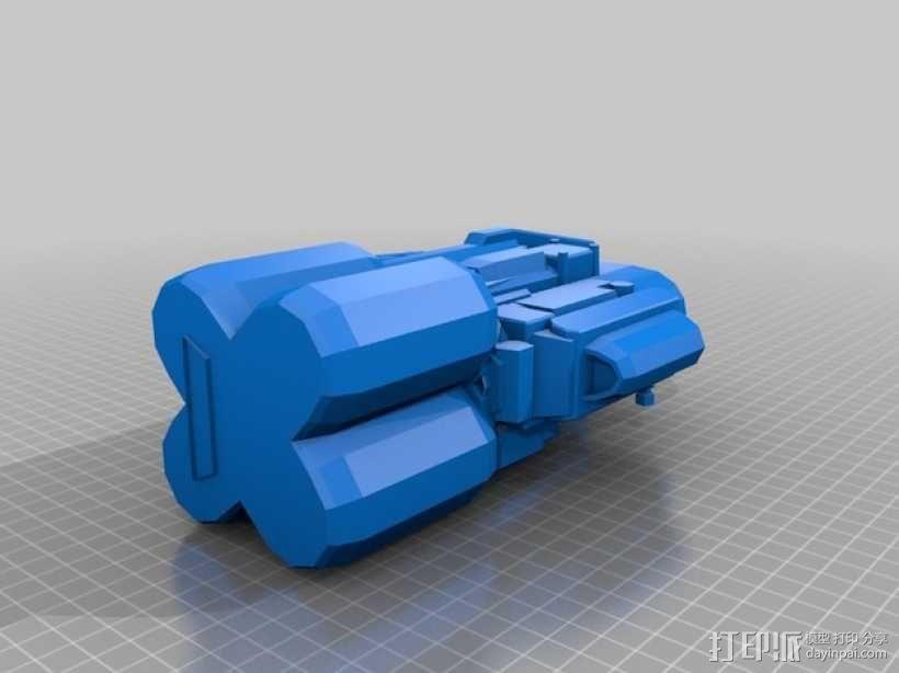 《变形金刚 》擎天柱 3D模型  图10