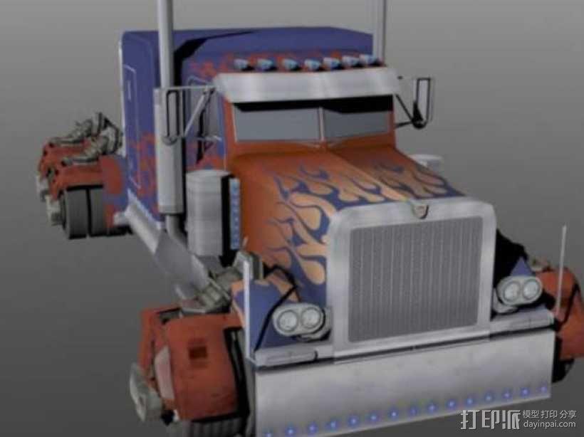 《变形金刚 》擎天柱 3D模型  图13