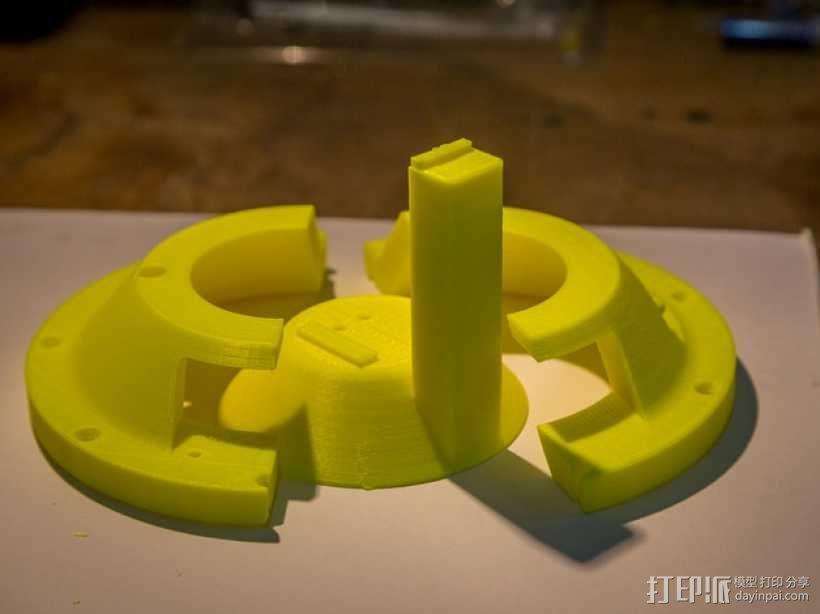 双臂机器人  3D模型  图4
