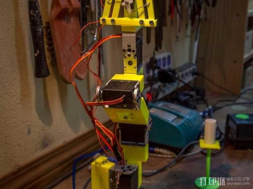 双臂机器人  3D模型  图2