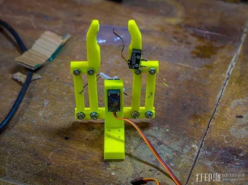 双臂机器人  3D模型  图8