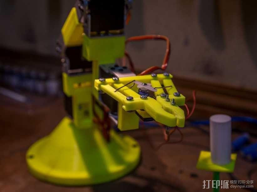 双臂机器人  3D模型  图12