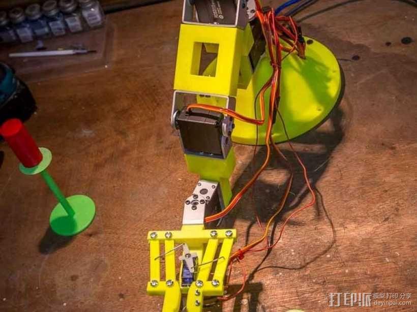 双臂机器人  3D模型  图10