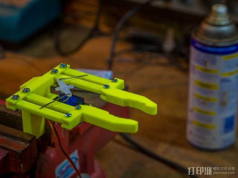双臂机器人  3D模型  图9