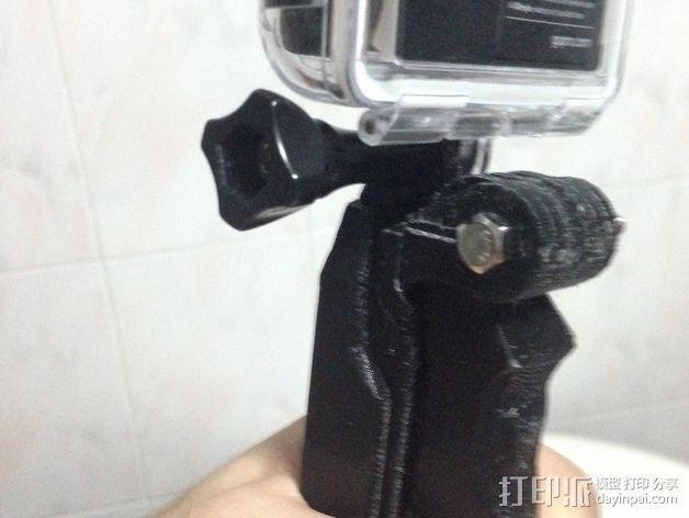 GoPro相机自拍支架 3D模型  图3