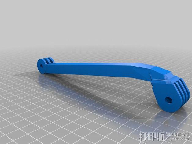 GoPro相机自拍支架 3D模型  图14