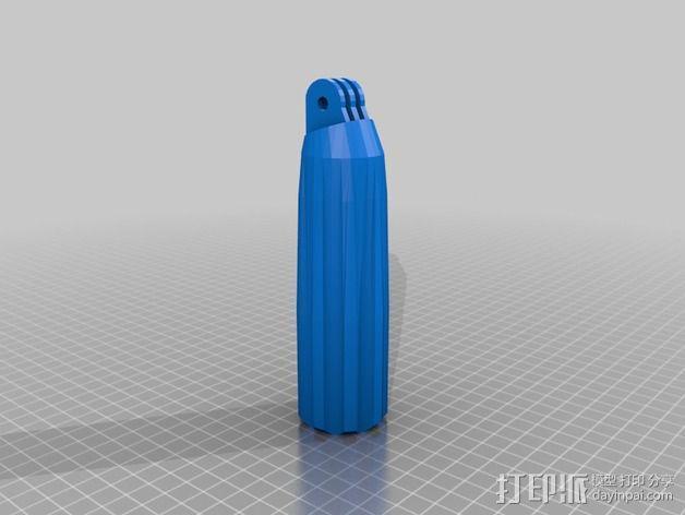 GoPro相机自拍支架 3D模型  图16
