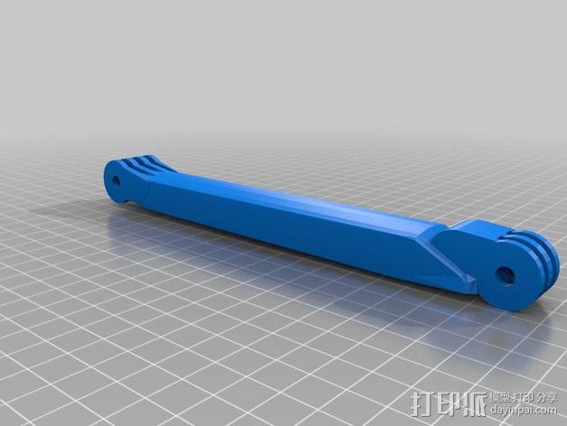 GoPro相机自拍支架 3D模型  图17