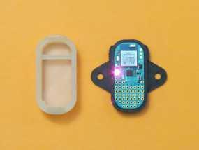 蓝光电路板外壳 3D模型