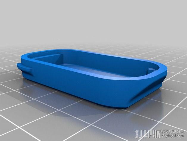 蓝光电路板外壳 3D模型  图6