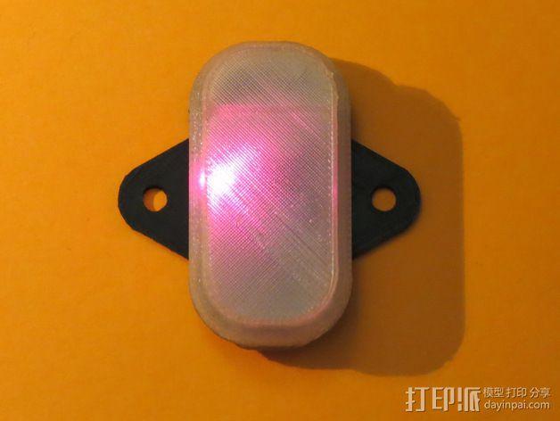 蓝光电路板外壳 3D模型  图5