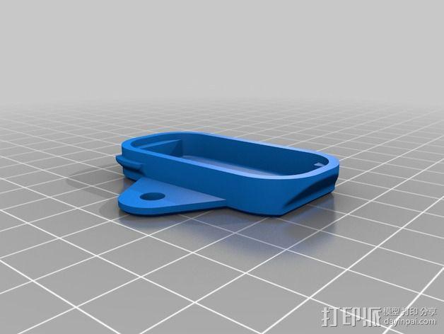 蓝光电路板外壳 3D模型  图7