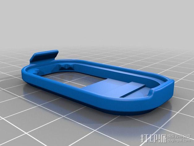 蓝光电路板外壳 3D模型  图8