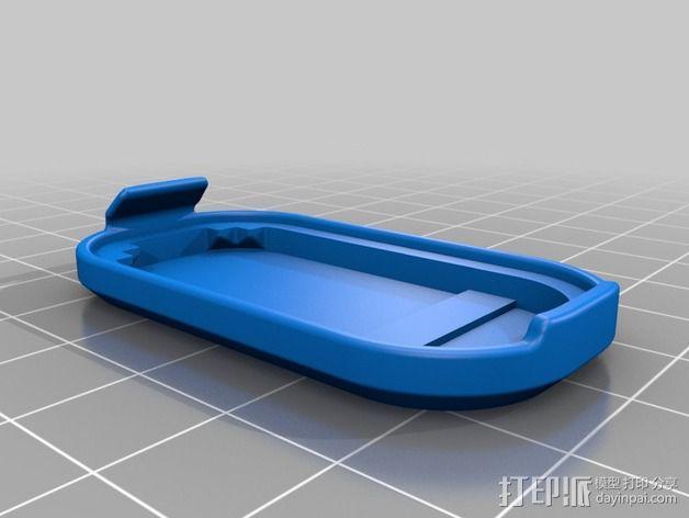 蓝光电路板外壳 3D模型  图9
