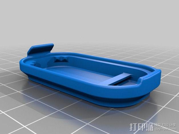 蓝光电路板外壳 3D模型  图10
