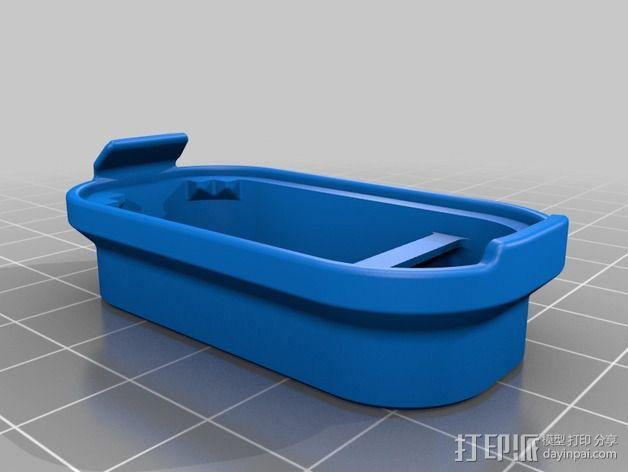 蓝光电路板外壳 3D模型  图11