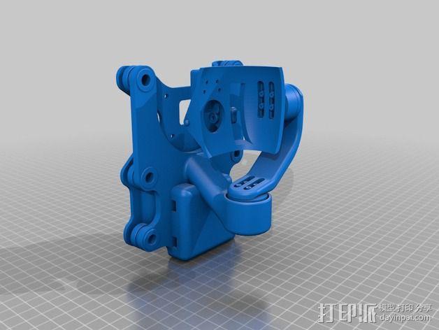 Phantom 2相机2D平衡环 3D模型  图7