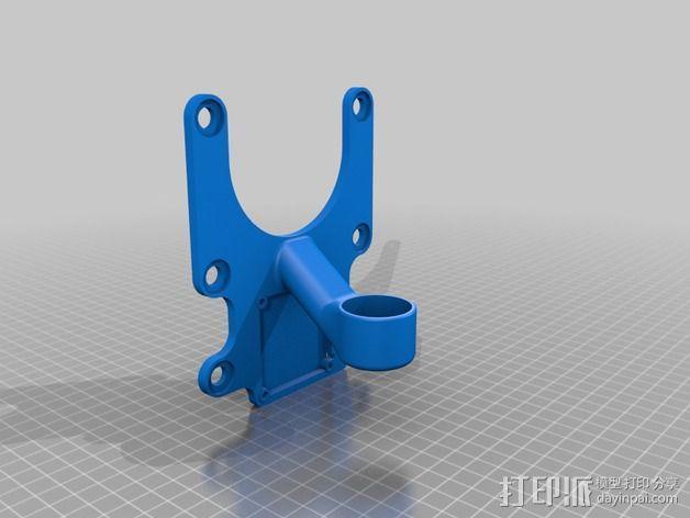 Phantom 2相机2D平衡环 3D模型  图8