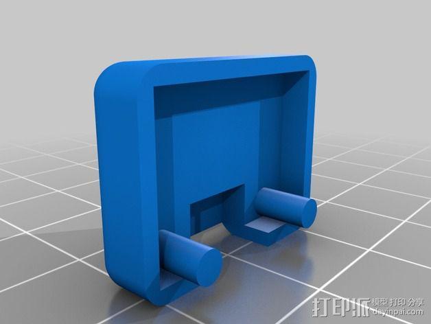 Phantom 2相机2D平衡环 3D模型  图9