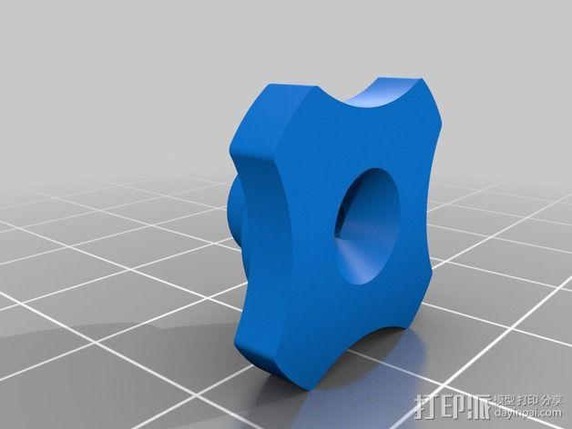 Phantom 2相机2D平衡环 3D模型  图11