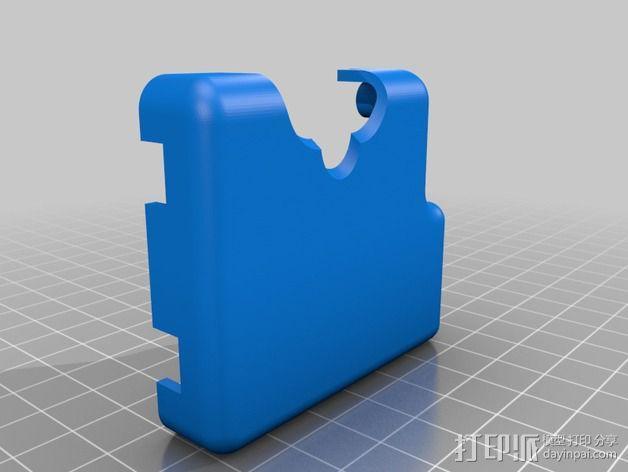 Phantom 2相机2D平衡环 3D模型  图10
