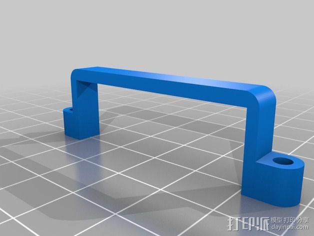 Phantom 2相机2D平衡环 3D模型  图19