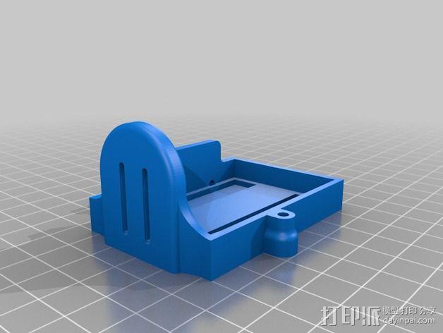 Phantom 2相机2D平衡环 3D模型  图18