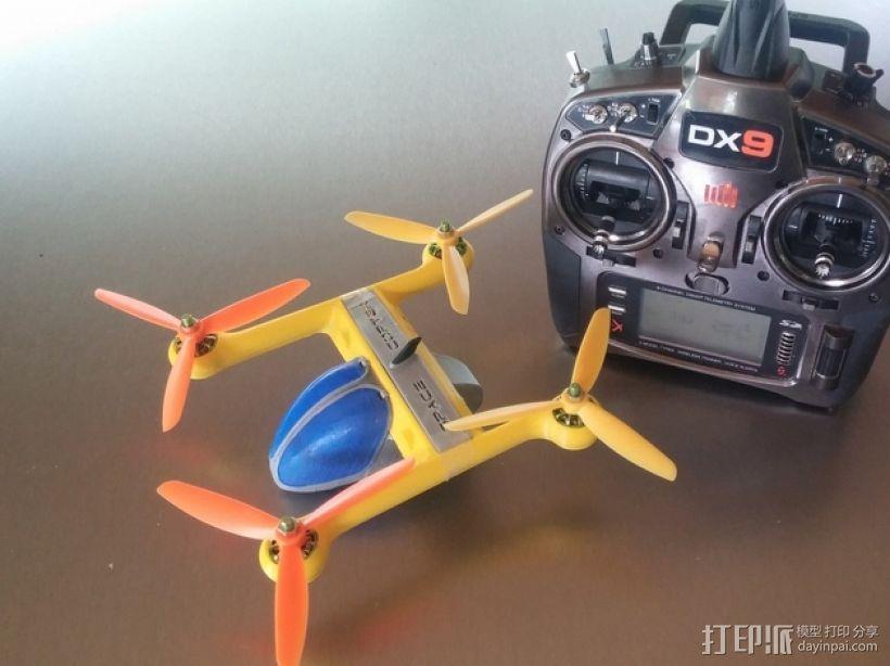 Spacecopter四轴飞行器 3D模型  图2