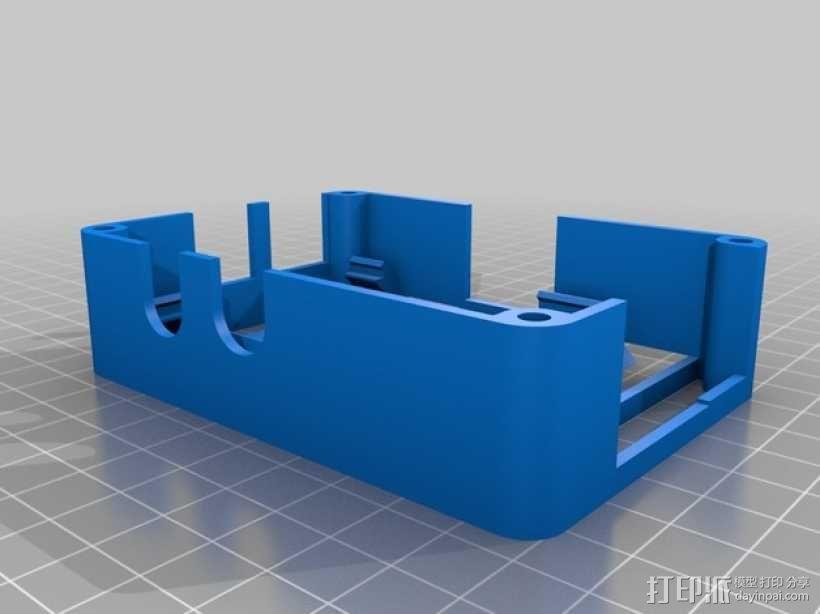 便携式树莓派电路板外壳 3D模型  图9