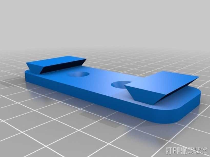 便携式树莓派电路板外壳 3D模型  图11