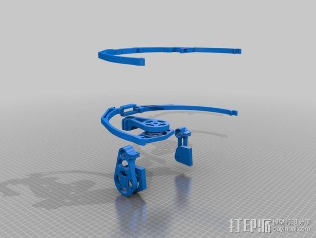 相机平衡环 3D模型  图5