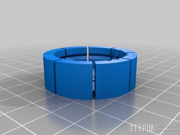 舞台灯光开关 3D模型  图3