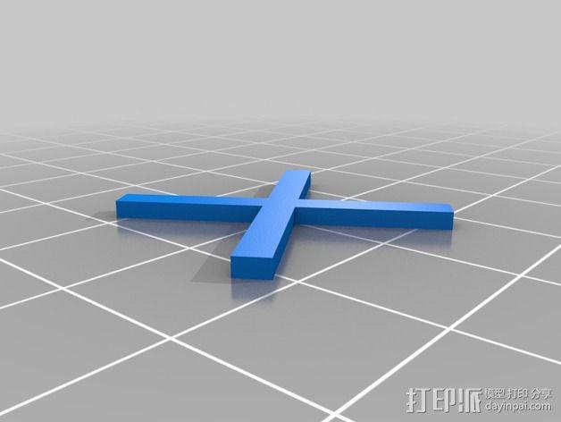 舞台灯光开关 3D模型  图4