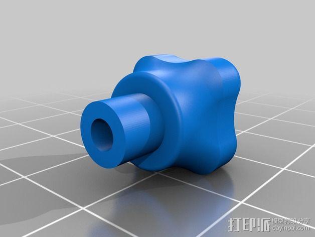 DJI Phantom 2摄像机两轴平衡环 3D模型  图8