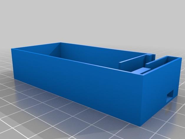 DIY USB 能源板 3D模型  图2