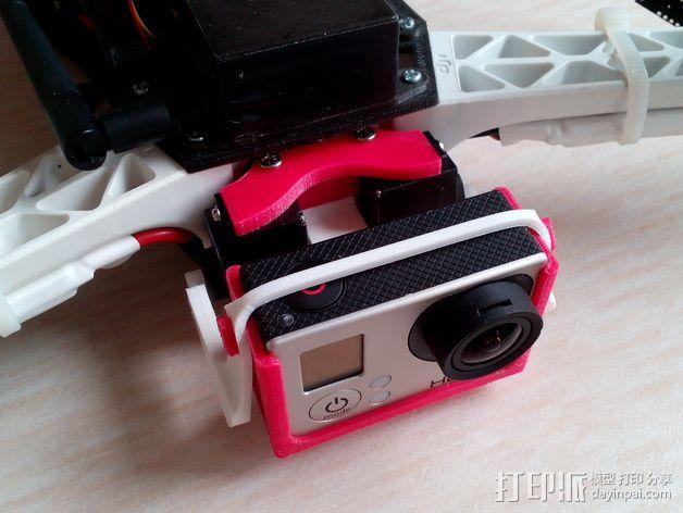 相机 灵活平衡环 3D模型  图5