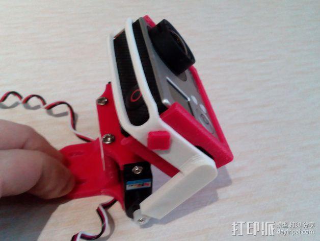 相机 灵活平衡环 3D模型  图4