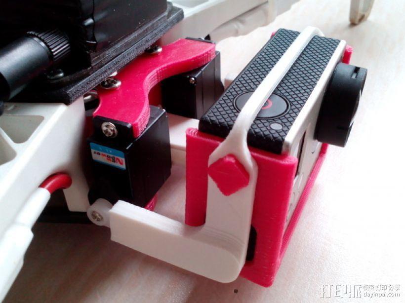 相机 灵活平衡环 3D模型  图1