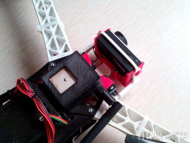 相机 灵活平衡环 3D模型  图7