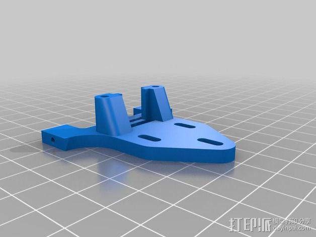 相机 灵活平衡环 3D模型  图13