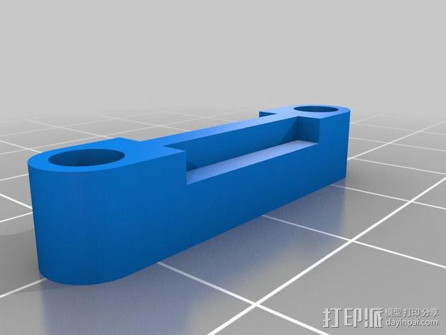相机 灵活平衡环 3D模型  图15