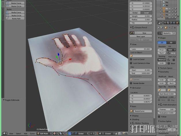 机械手 3D模型  图8
