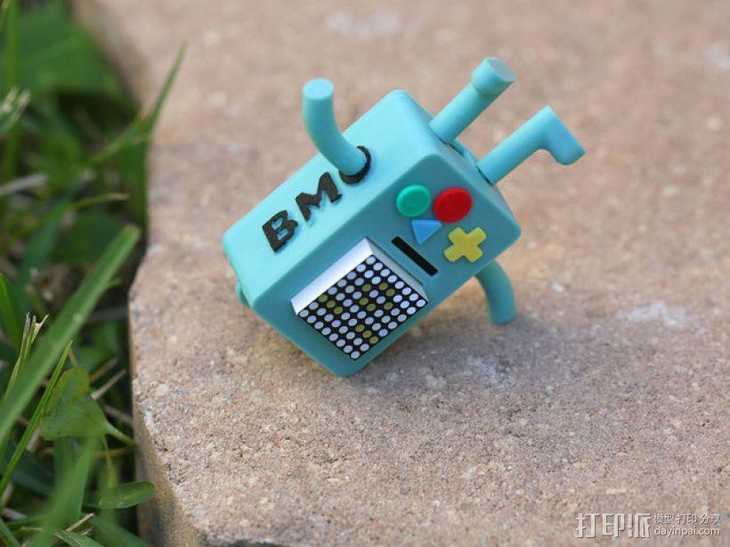 BMO游戏机 3D模型  图2