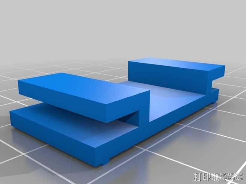 迷你fpv四轴飞行器组件 3D模型  图13