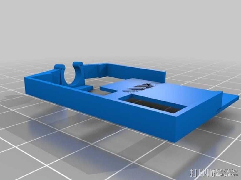 迷你fpv四轴飞行器组件 3D模型  图14
