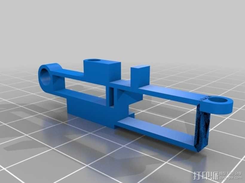 迷你fpv四轴飞行器组件 3D模型  图17